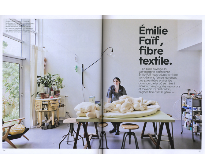 Milk décoration / Emilie Faïf